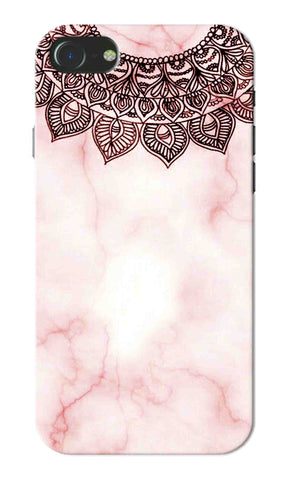 Iphone 7 - Pink Mandala Marble Mobile Case