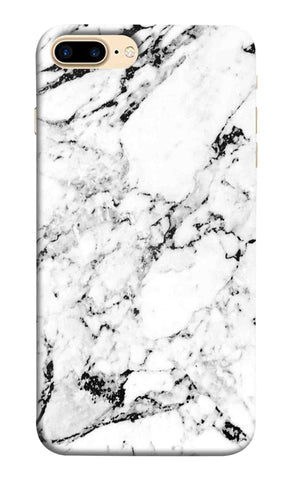 Iphone 7 Plus - White Marble Y Mobile Case
