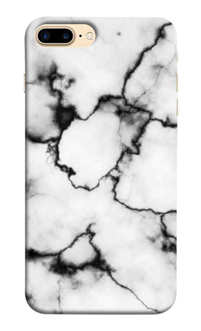 Iphone 7 Plus - White Thunder Marble Mobile Case