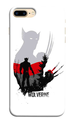 Iphone 7 Plus - Wolverine  Artist Design Mobile Case