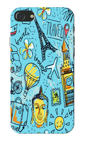 Iphone 7 - Travel Sketch Mobile Case