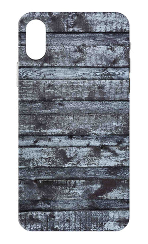 Iphone X - Wooden Rust Mobile Case