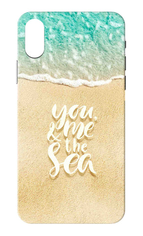 Iphone X - You Me And The Sea Mobile Case