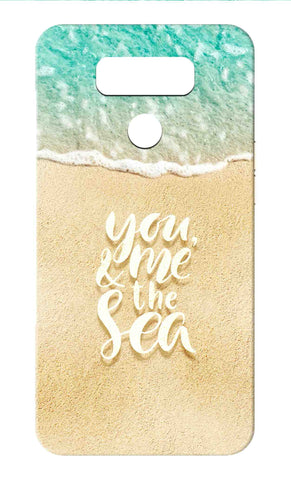 Lg G6 - You Me And The Sea Mobile Case