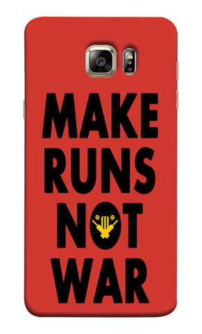 Samsung Note 5 - Make Runs Not War Mobile Case