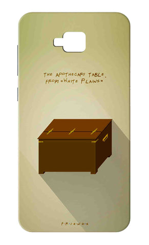 Zenfone 4 Selfie ZB553KL - The Apothecary Table Mobile Case