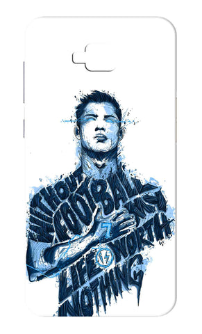 Zenfone 4 Selfie ZB553KL - Without Football My Life Is Worth Nothing Mobile Case