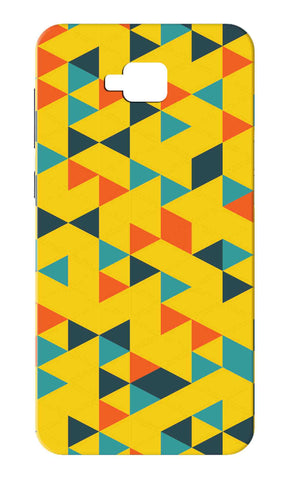 Zenfone 4 Selfie ZB553KL - Yellow Geometric Mobile Case