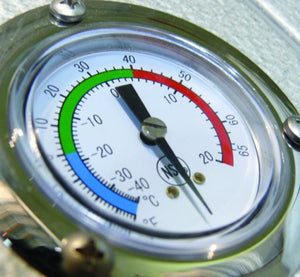 Arctic Dial Thermometer 2""