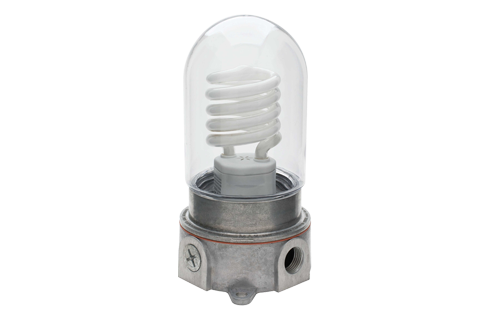 Vapor Proof Light Fixture (No bulb)