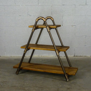 Charleston Industrial Chic Display Bookcase - H&R Lifestyle