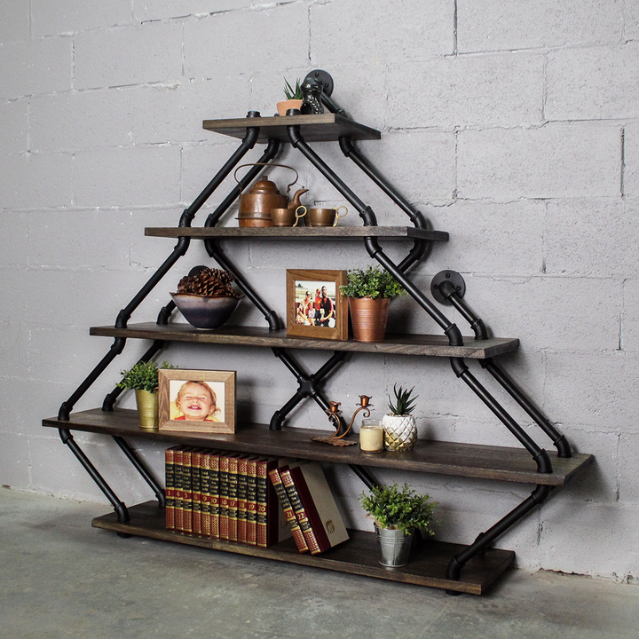 Norfolk Modern Industrial Tiered Etagere