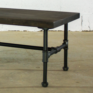 Corvallis DIY Industrial Coffee Table Pipe Leg Kit - H&R Lifestyle