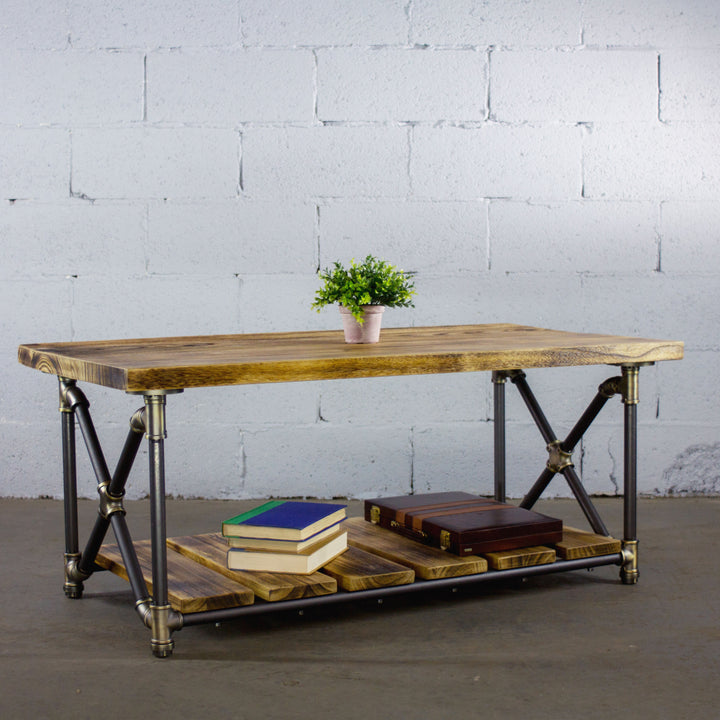 Houston Industrial Chic Coffee Table - H&R Lifestyle