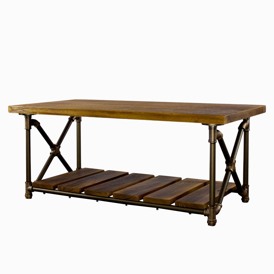 Houston Industrial Chic Coffee Table