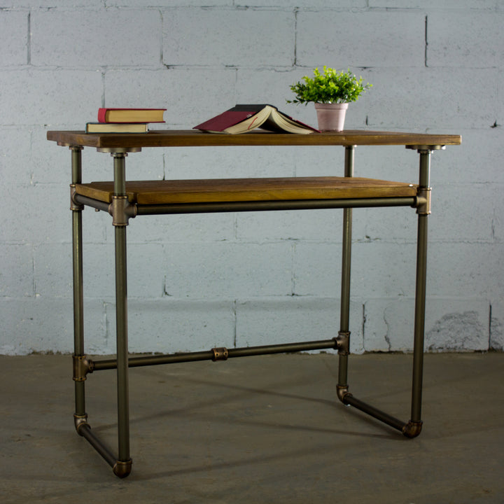 Berkeley Industrial Mid-Century Desk - H&R Lifestyle
