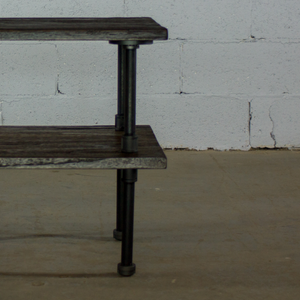 Corvallis DIY Industrial End Table Pipe Legs - H&R Lifestyle