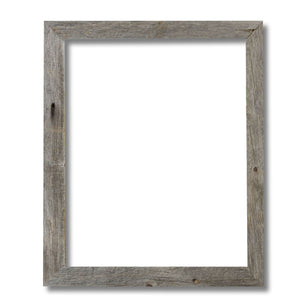 "Coastal Dreams 2"" Thick Reclaimed Wood Frame"