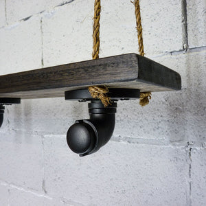 Portland Industrial Chic Hanging Shelf Planter - H&R Lifestyle