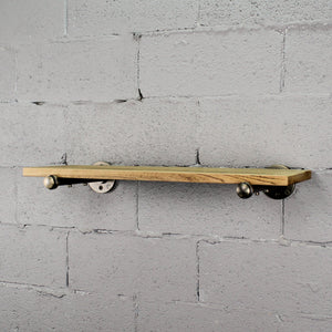 Somerville Farmhouse Industrial Wall Mounted Decorative Shelf - H&R Lifestyle