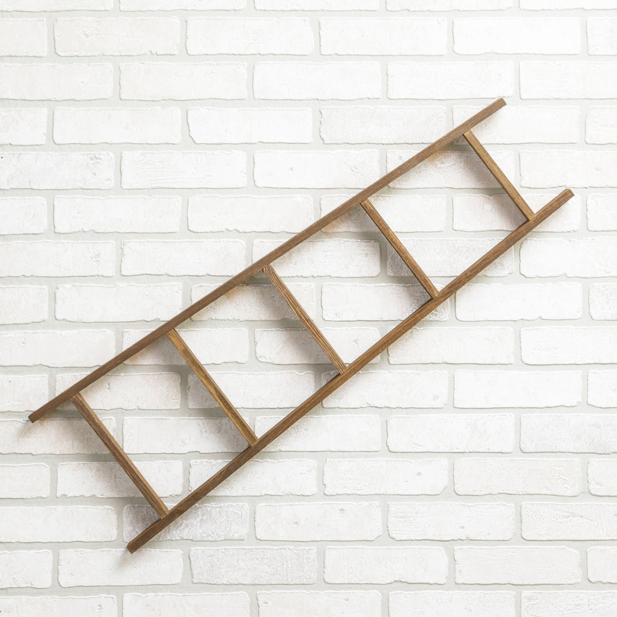 "Dahlia 34"" Tall Tapered Accent Ladder"