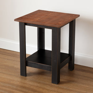 Azalea Solid Pine End Table - H&R Lifestyle