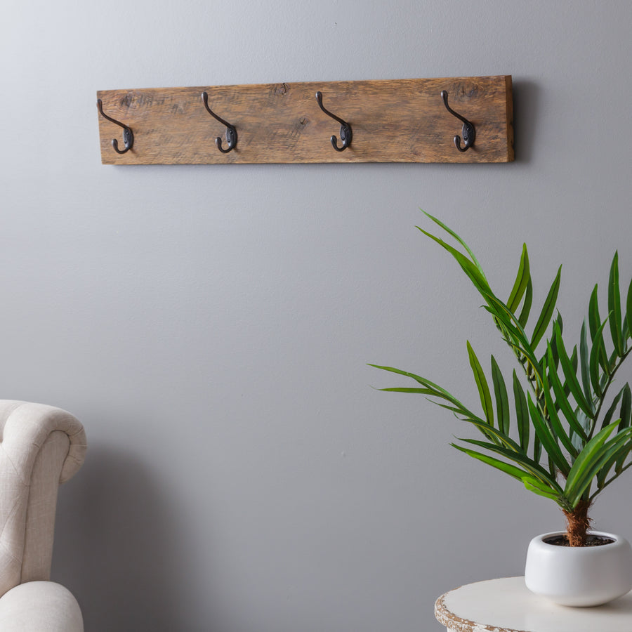 Heather Rustic Wall Mounted Coat Rack - H&R Lifestyle