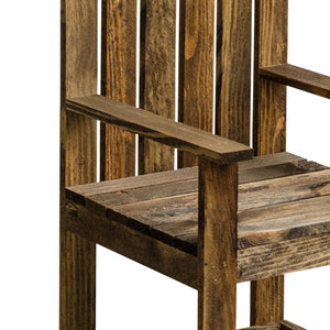 Primrose Reclaimed Wood Garden Chair