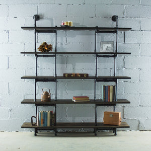 Eugene Modern Industrial Bookcase - H&R Lifestyle