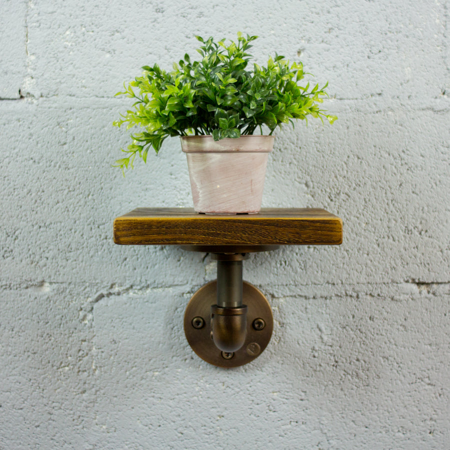 Ames Industrial Chic Decorative Shelf - H&R Lifestyle