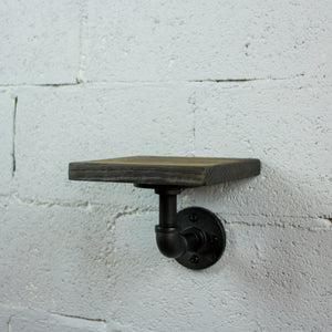 Ames Industrial Chic Decorative Accent Shelf - H&R Lifestyle