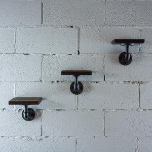 Ames 3-Piece Industrial Chic Decorative Shelf - H&R Lifestyle