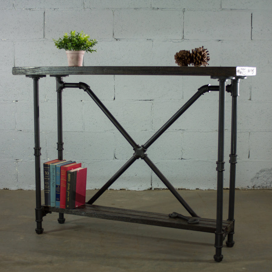 Houston Industrial Chic Console Table - H&R Lifestyle