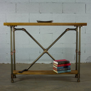 Houston Industrial Chic Console Table