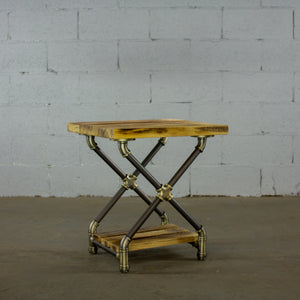 Houston Industrial Chic Side Table - H&R Lifestyle