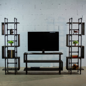 Tucson Modern Industrial Entertainment Center - H&R Lifestyle