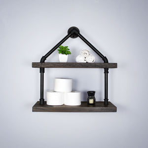 Burlington Modern Industrial Tiered Shelf