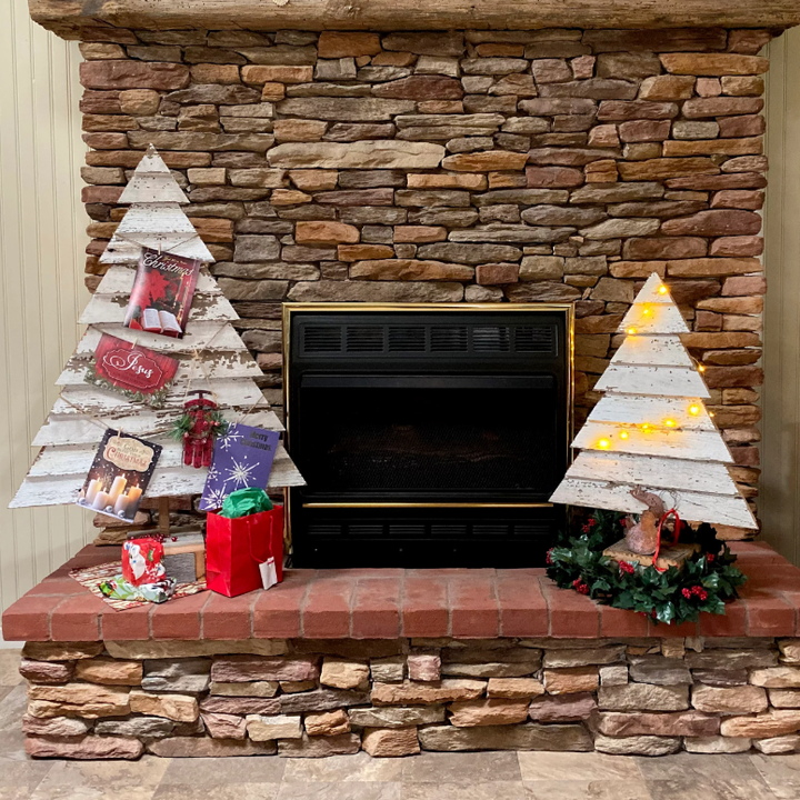 Amaryllis Reclaimed Wood Christmas Trees - H&R Lifestyle