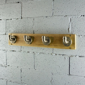San Antonio Industrial Wall Mounted Coat Rack - H&R Lifestyle