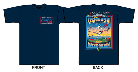 2014 Main Event Oshkosh AirVenture Design T-shirt