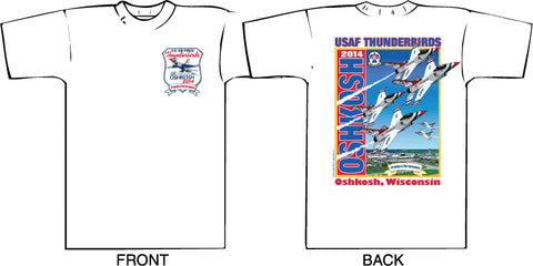 2014 Oshkosh AirVenture Thunderbirds T-shirt