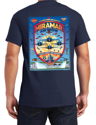"2019 Miramar Air Show Men's T-Shirt ""A Salute to America's First Responders"""