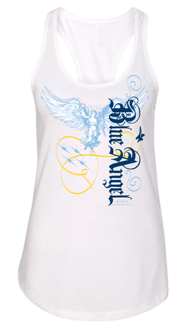 Blue Angel Racerback Tank