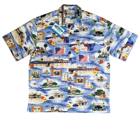 Huntington Beach Surf City Hawaiian™ Shirts for Men