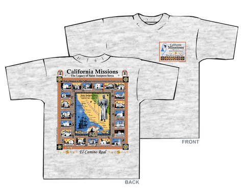California Missions/Saint Junipero Serra Shirts & Hoodies