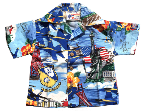 Blue Angel Hawaiian™ Shirts for Children