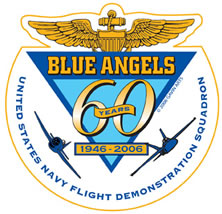 Blue Angels 60th Anniversary Pin