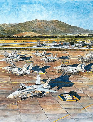 MCAS El Toro Air Show 1989 Note Cards