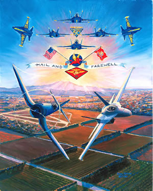 MCAS El Toro Air Show 1996 Note Cards