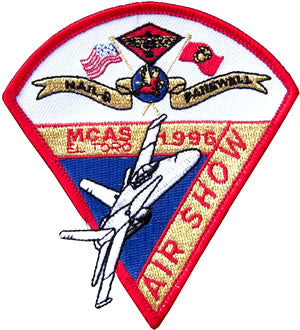 MCAS El Toro Air Show 1996 Event Logo Patch